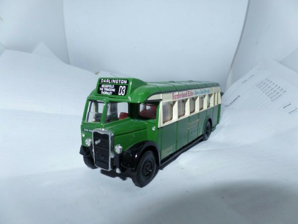 Corgi Bristol L5G Durham District Services Bus Darlington UB